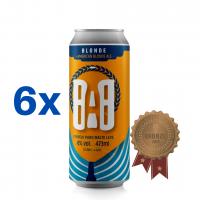 Blonde 473ml (16oz.) can 6-pack