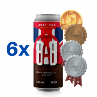Lucky Jack 473ml (16oz.) can 6-pack