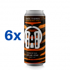 Tres Tigres 473ml (16oz.) can